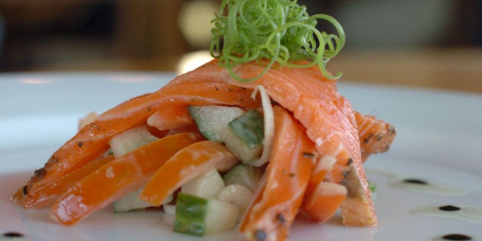 6. Salmon cultivado Foto: Getty Images