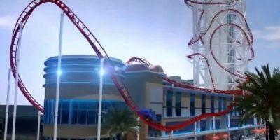 Skyscraper se ubicará en el parque de diversiones SkyPlex complex en Orlando, Florida Foto:Vía Youtube/animación