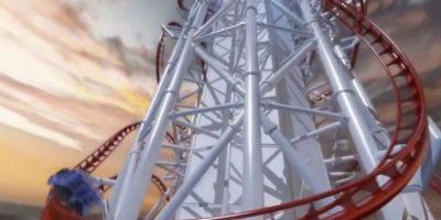 Tendrá una altura de 150 metros (500 pies) y una longitud de mil 600 metros (5,200 pies) Foto:Vía Youtube/animación