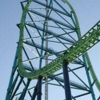 Parque: Six Flags Great Adventure. Localización: Jackson, Nueva Jersey, EE. UU. Altura: 139 m. Velocidad: 206 km/h. Longitud: 950 m. Caída: 127 m. Foto:Wikimedia