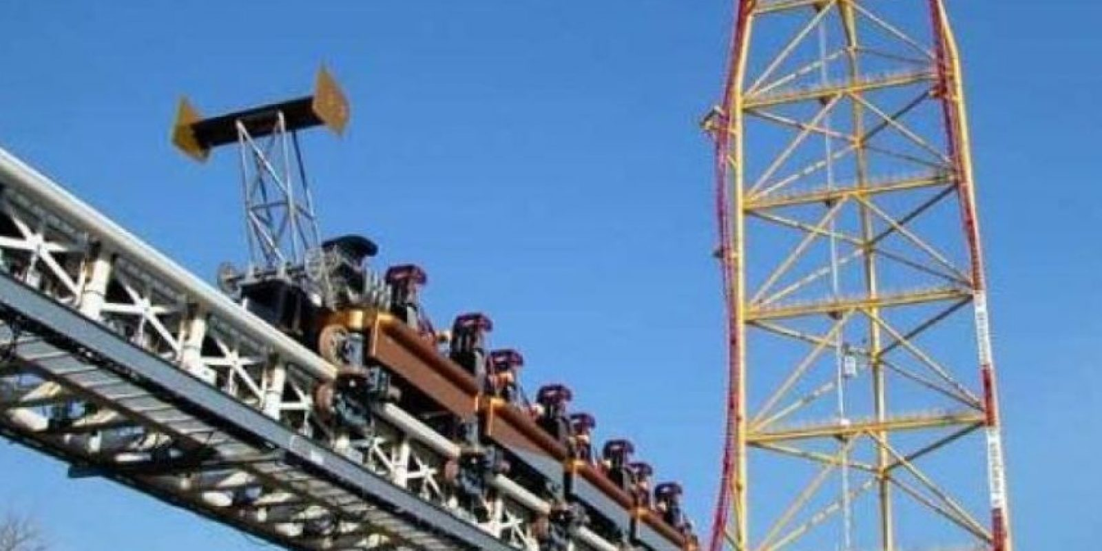 Top Thrill Dragster, Ohio, Estados Unidos Foto:Wikimedia