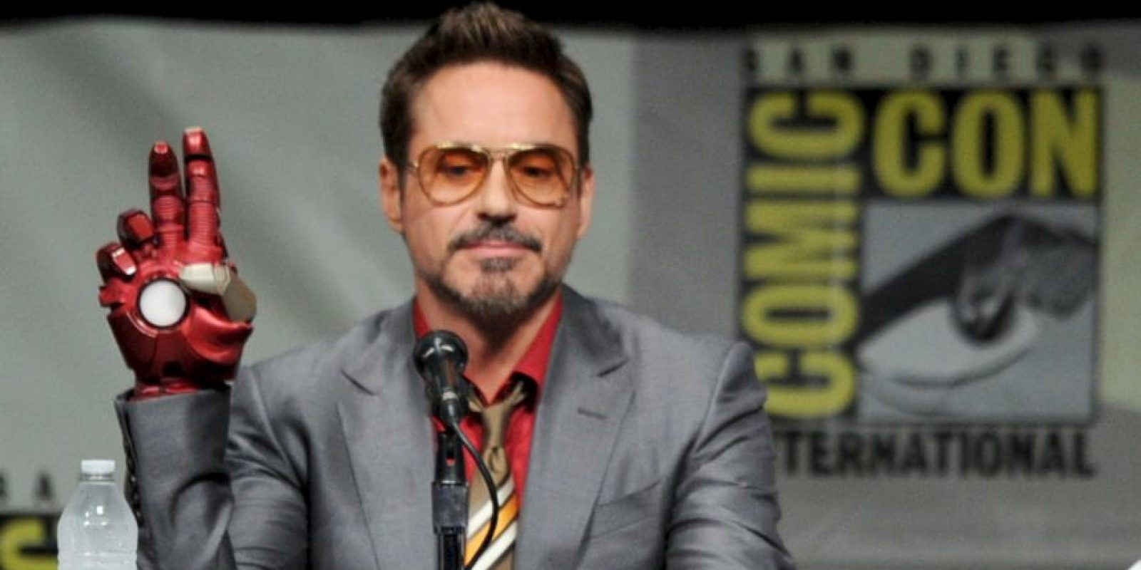 """El rostro detrás de """"Iron Man"""" demostró su buen corazón. Foto:Getty Images"""