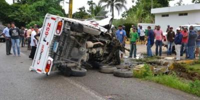 Cada día mueren más de siete personas en accidentes