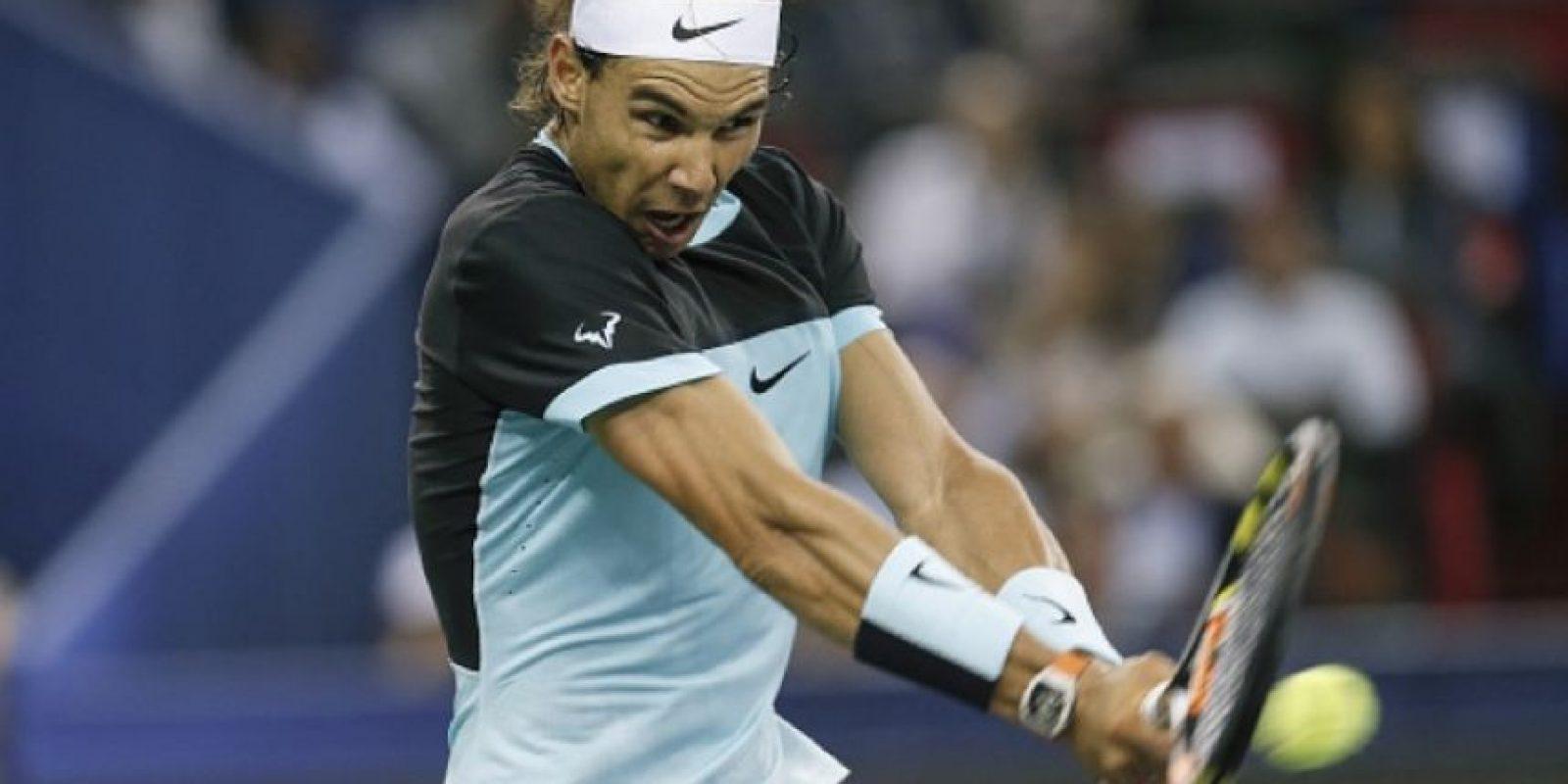 El tenista español Rafael Nadal. Foto:Getty Images