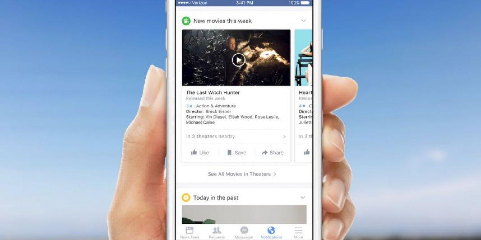 Facebook quiere que se enteren de todo lo que sucede a su alrededor. Foto:Facebook
