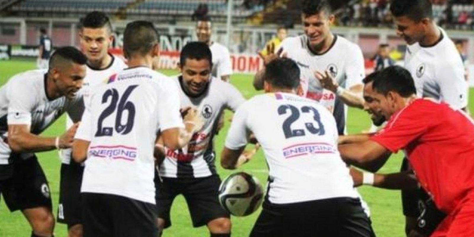 Lo realizó César Martínez en el triunfo del Zamora sobre Estudiantes Caracas. Foto:Vía twitter.com/zamoraFC
