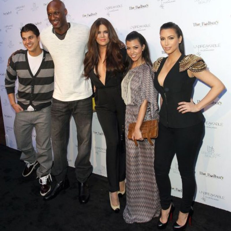 Rob Kardashian está más que dispuesto a donar uno de sus riñones para ayudar a su mejor amigo y cuñado. Foto:Getty Images