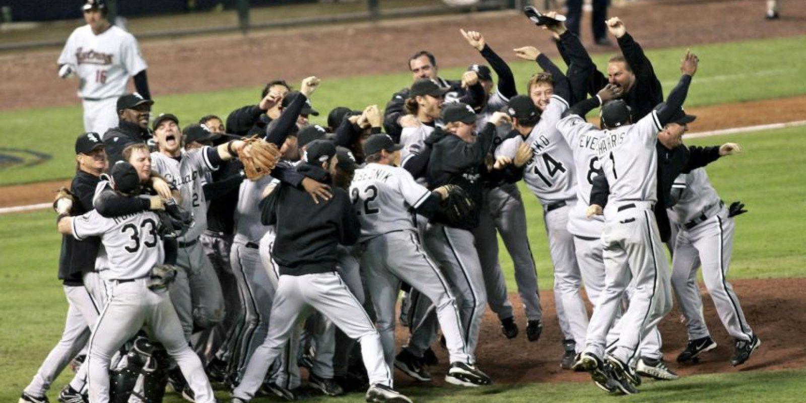 2005 – White Sox de Chicago / Vencieron a los Astros de Houston en cuatro juegos. Foto:Getty Images