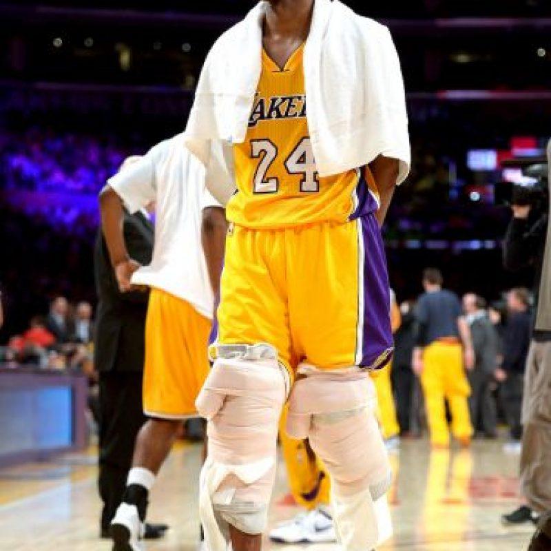 4. ¿El adiós de Kobe Bryant? Foto:Getty images