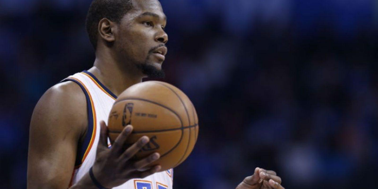 Kevin Durant. El mejor basquetbolista de la NBA en la campaña 2013-2014 Foto:Getty images