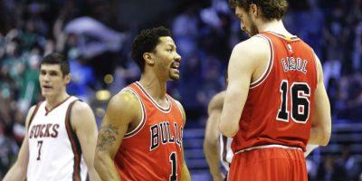 6. Una nueva oportunidad de birllar para Derrick Rose y los Bulls Foto:Getty Images