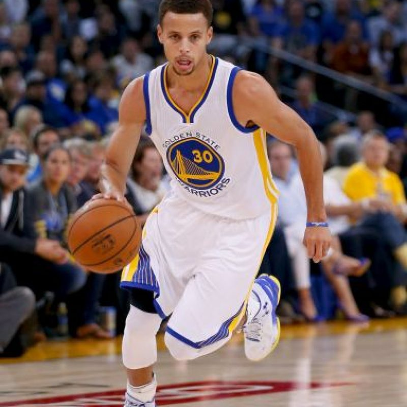 Stephen Curry, el actual MVP Foto:Getty Images