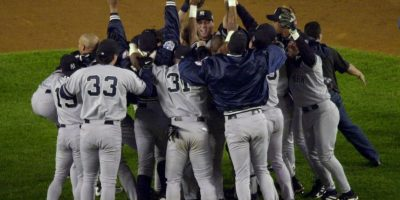 2000 – Yankees de Nueva York / Vencieron a los Mets de Nueva York en cinco juegos. Foto:Getty Images