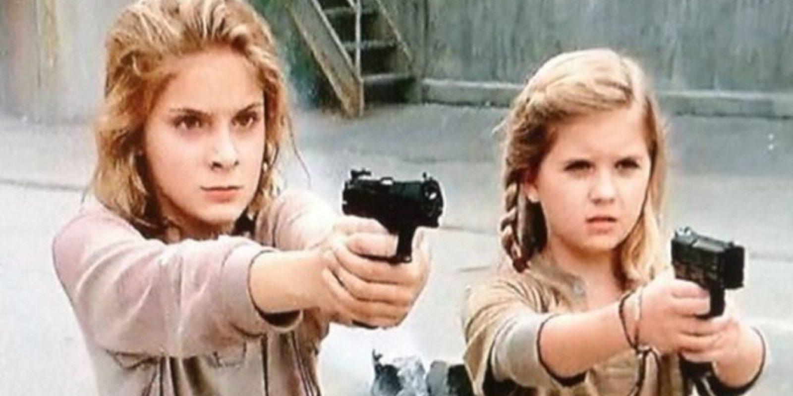 Las hermanas huérfanas que durante la cuarta temporada quedan al cuidado momentáneo de Tyreese y Carol Foto:AMC