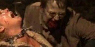 """""""El Gobernador"""" encerró a Andrea junto a un moribundo Milton que acabaría convertido en caminante y mordiéndola Foto:AMC"""