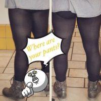 Es decir: los leggings no son prohibidos para nadie. Foto:vía Twitter