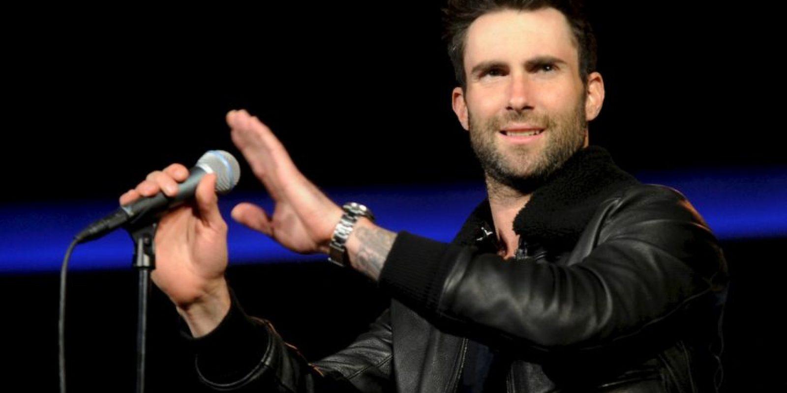1. Adam Noah Levine es un cantante, compositor, guitarrista y actor estadounidense, más conocido por ser el líder de la banda Maroon 5. Foto:Getty Images