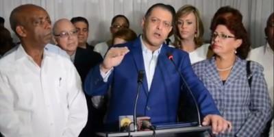 Exdiputado y otros dirigentes renuncian del PRM en San Francisco de Macorís