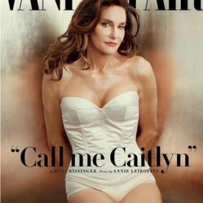 Caitlyn Jenner sorprendió al mundo con esta fotografía… Foto:Vanity Fair