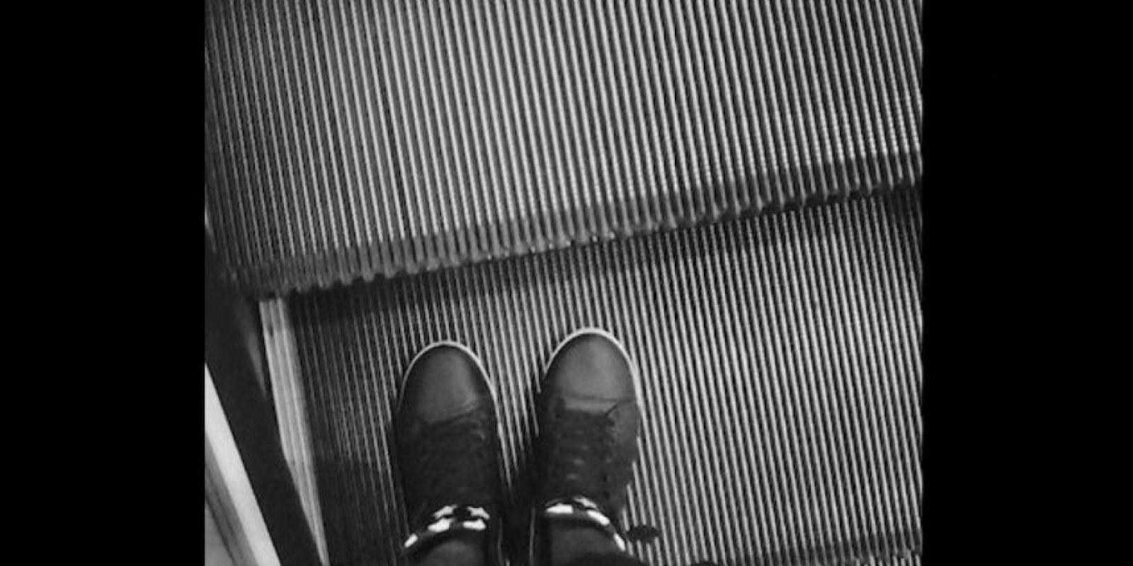 Tampoco se debe correr en ellas Foto:Instagram.com/explore/tags/escalator/