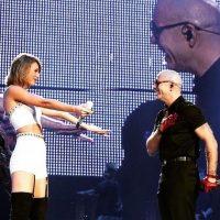 También estuvo presente Pitbull. Foto:Instagram/TaylorSwift