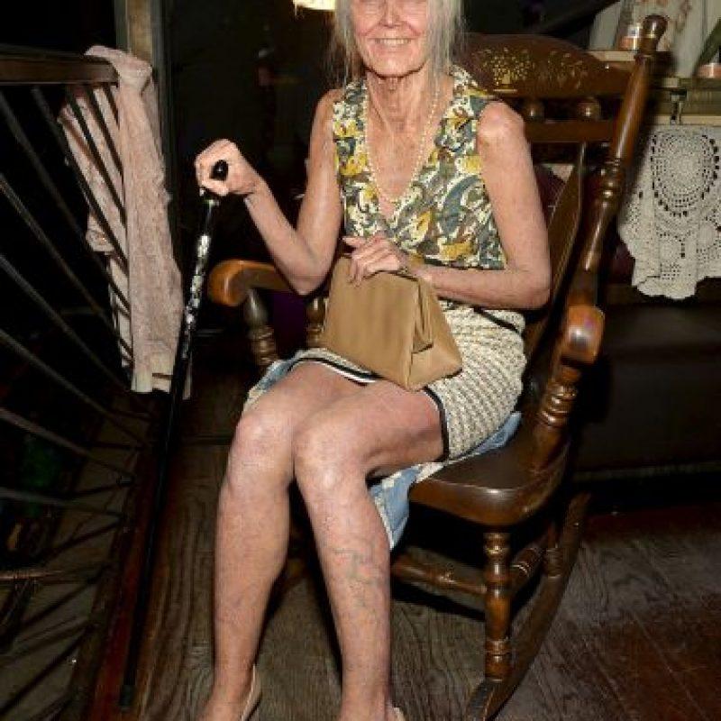 Esta anciana Foto:Getty Images