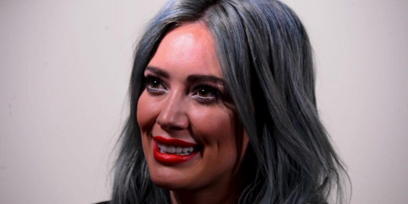 Hilary Duff se disfrazó de este ícono mexicano Foto:Getty Images
