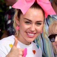 En realidad es Miley Cyrus Foto:Getty Images