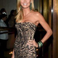 Es la modelo Heidi Klum Foto:Getty Images