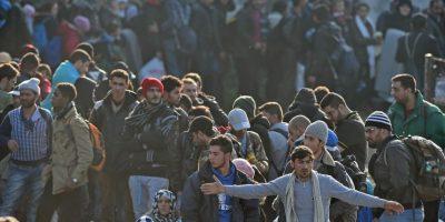 1. Recientemente Hungría culminó la construcción de su muro en la frontera de Serbia y Croacia. Foto:Getty Images
