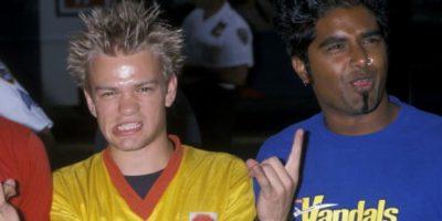 """Derick Whibley era muy joven cuando comenzó con """"Sum 41"""". Foto:vía Getty Images"""