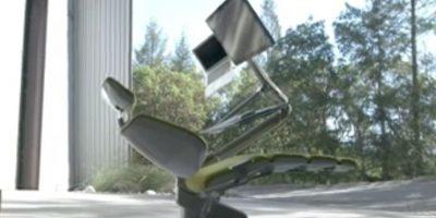 Este sillón inteligente es adaptable. Foto:Vía Youtube/AltWork