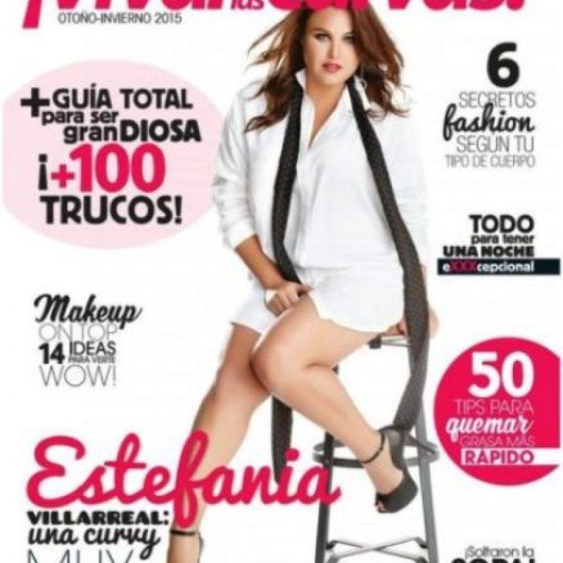 Estefanía Villarreal Foto:Vía instagram.com/estefavillarreal_of/