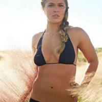 Si también una mujer muy bella. Foto:Vía instagram.com/RondaRousey