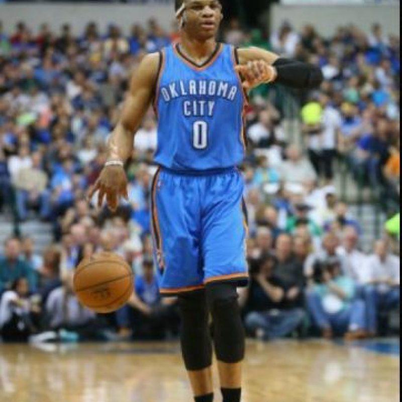 Y Russell Westbrook, las figuras del Thunder Foto:Getty Images