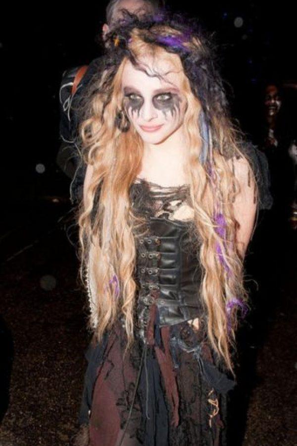 Esta mujer vampiro Foto:Getty Images