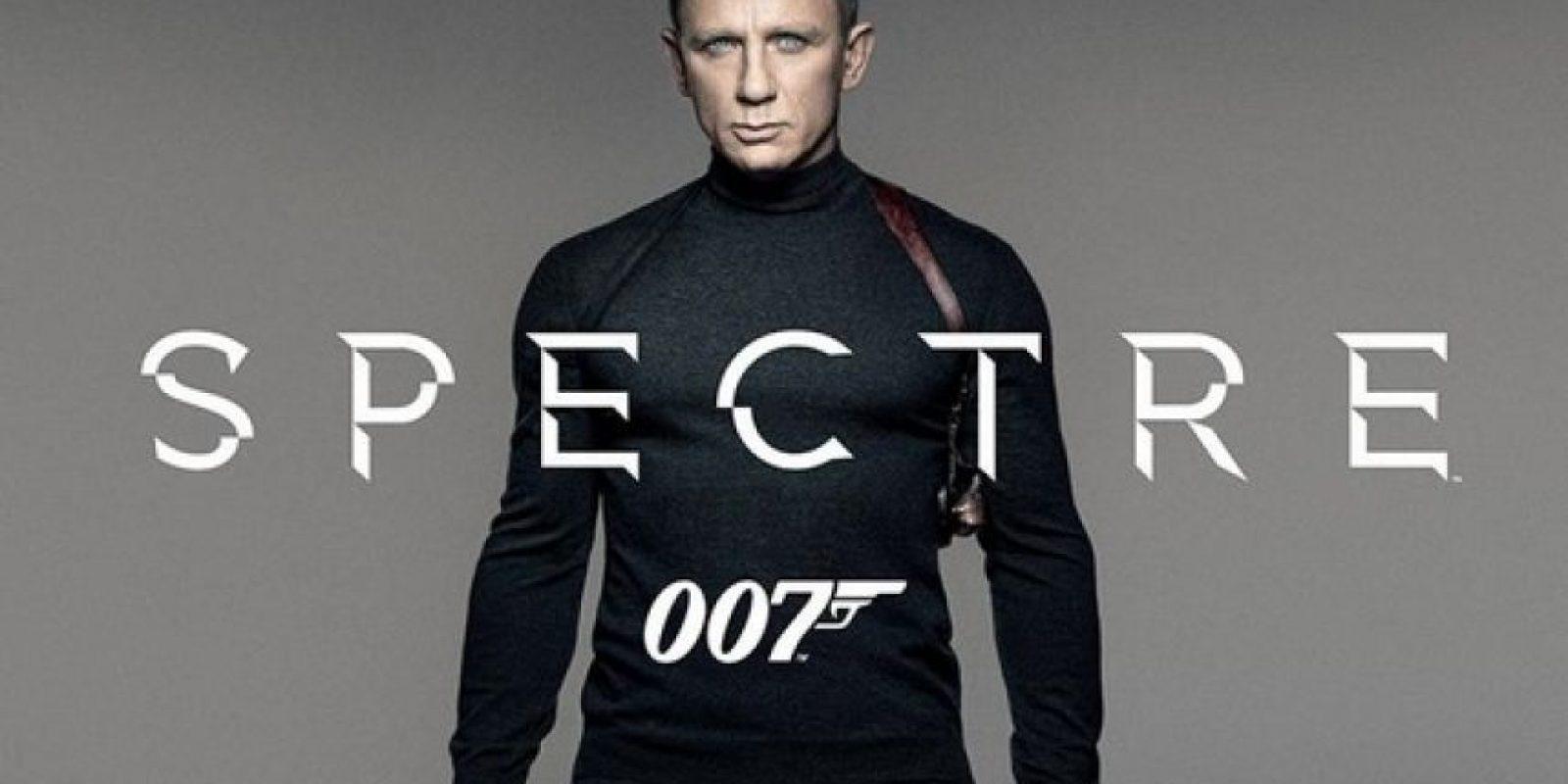 "La nueva cinta de ""James Bond"" se titula ""Spectre"" Foto:Twitter/007"