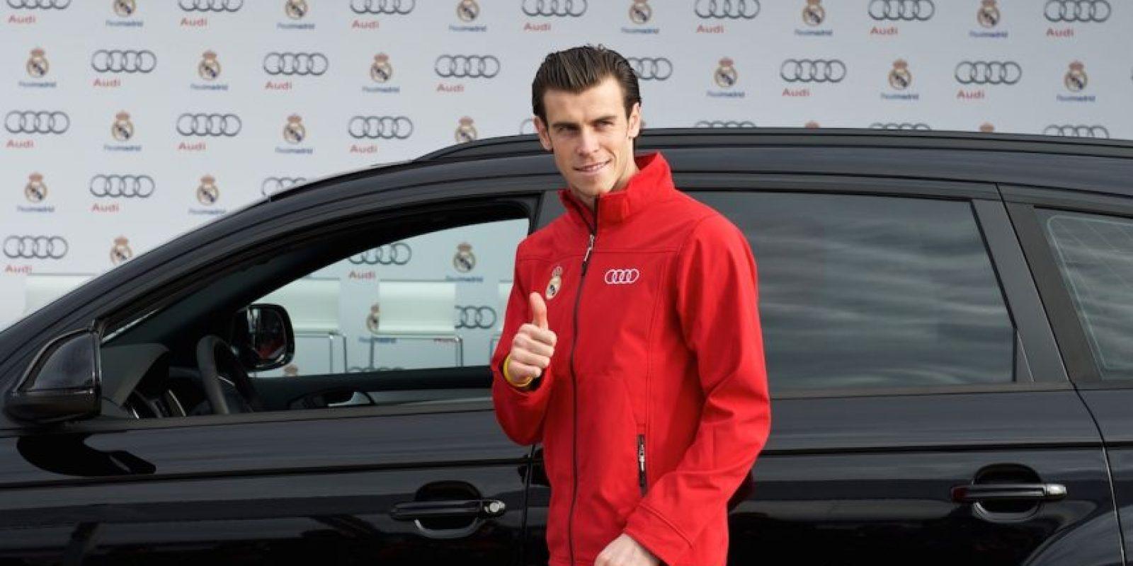 Ya es una tradición que en cada temporada, los futbolistas del Real Madrid estrenen automóvil. Foto:Getty Images