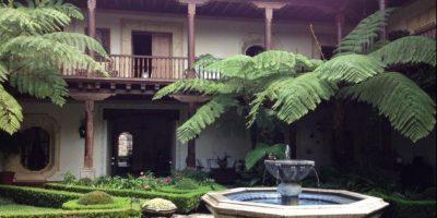 4- El Palacio de Doña Leonor en La Antigua Guatemala. Foto:twitter.com/scanizo