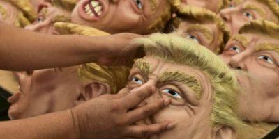El empresario también es uno de los más solicitados al momento de los disfraces Foto:AFP