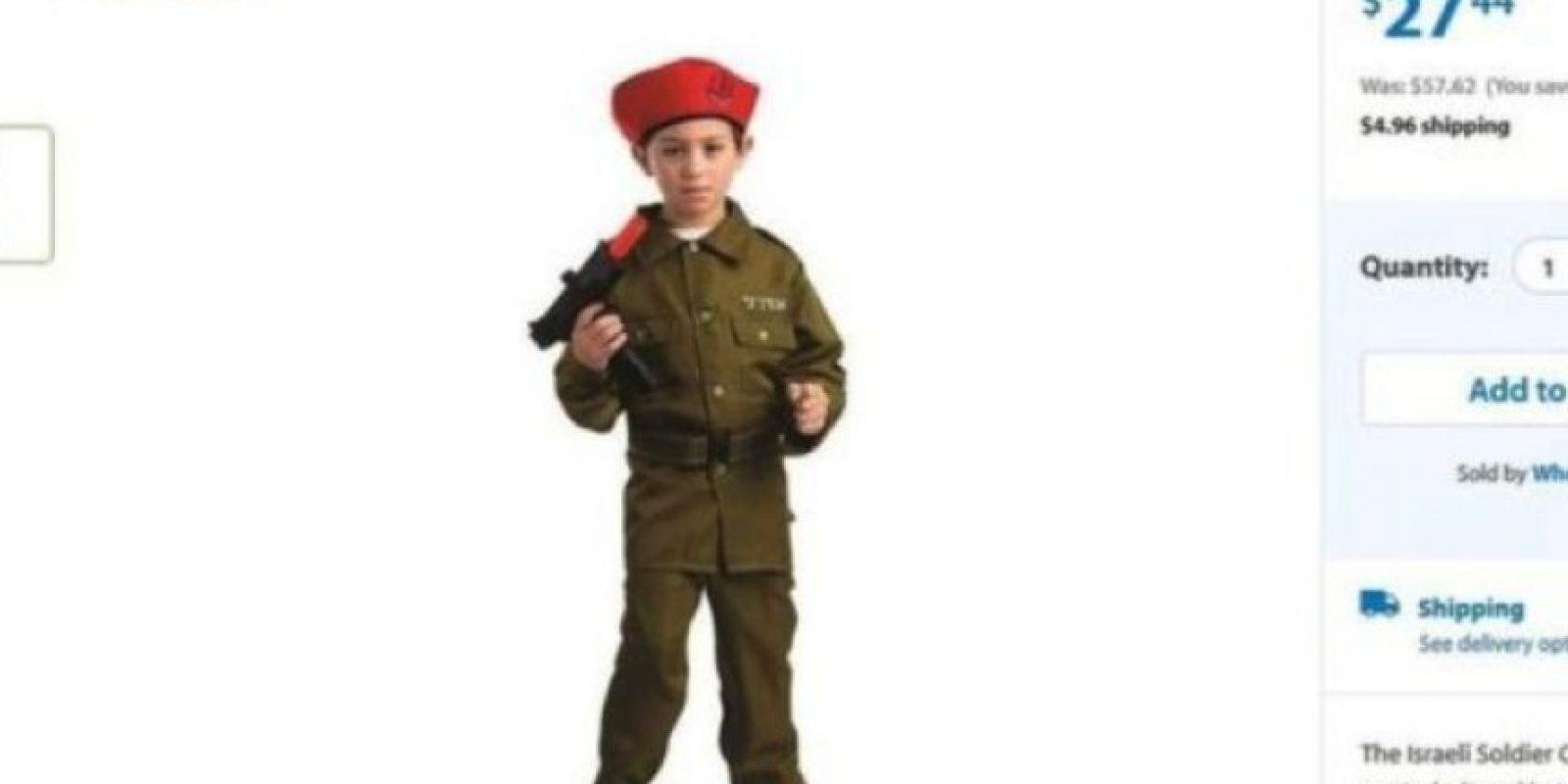 Soldado israelí Foto:Vía walmart.com