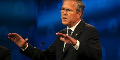 Aseguró que alguien le aconsejó atacarlo para mejorar en su campaña. Foto:Getty Images