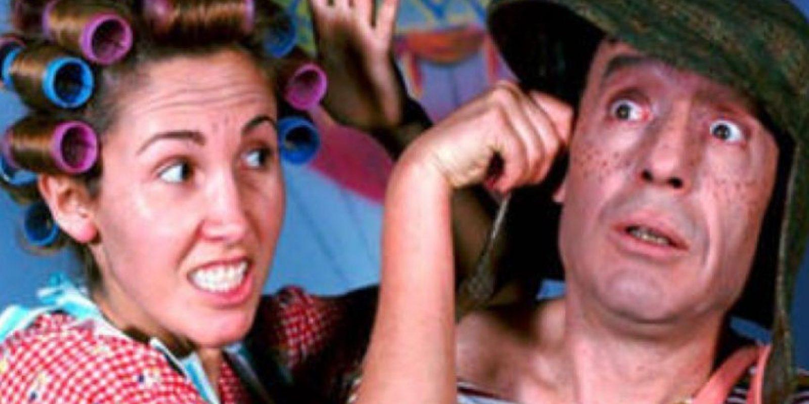 """Cuando comenzó, se le acusó a ella de ser la """"rompehogares"""". Eso lo dijo """"La Chilindrina"""". Foto:vía Facebook/Chespirito"""