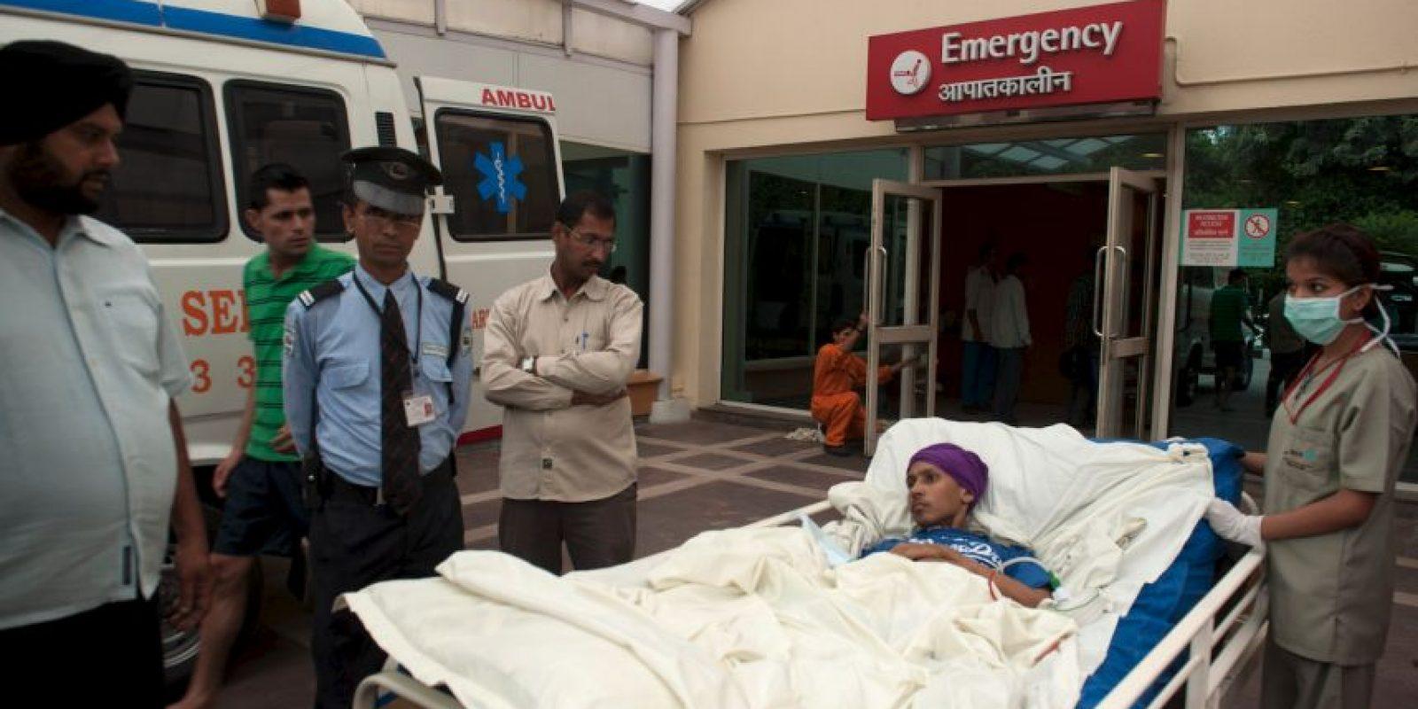 Por fin pudo ser operado y la operación duró cuatro horas. Foto:vía Barcroft Media