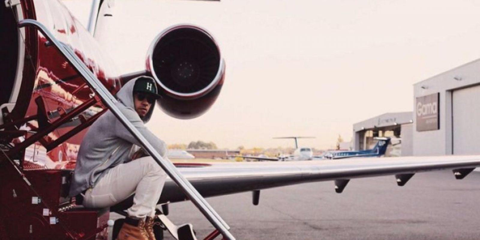 Este 29 de octubre, Lewis Hamilton aterrizó en México. Foto:Vía instagram.com/lewishamilton