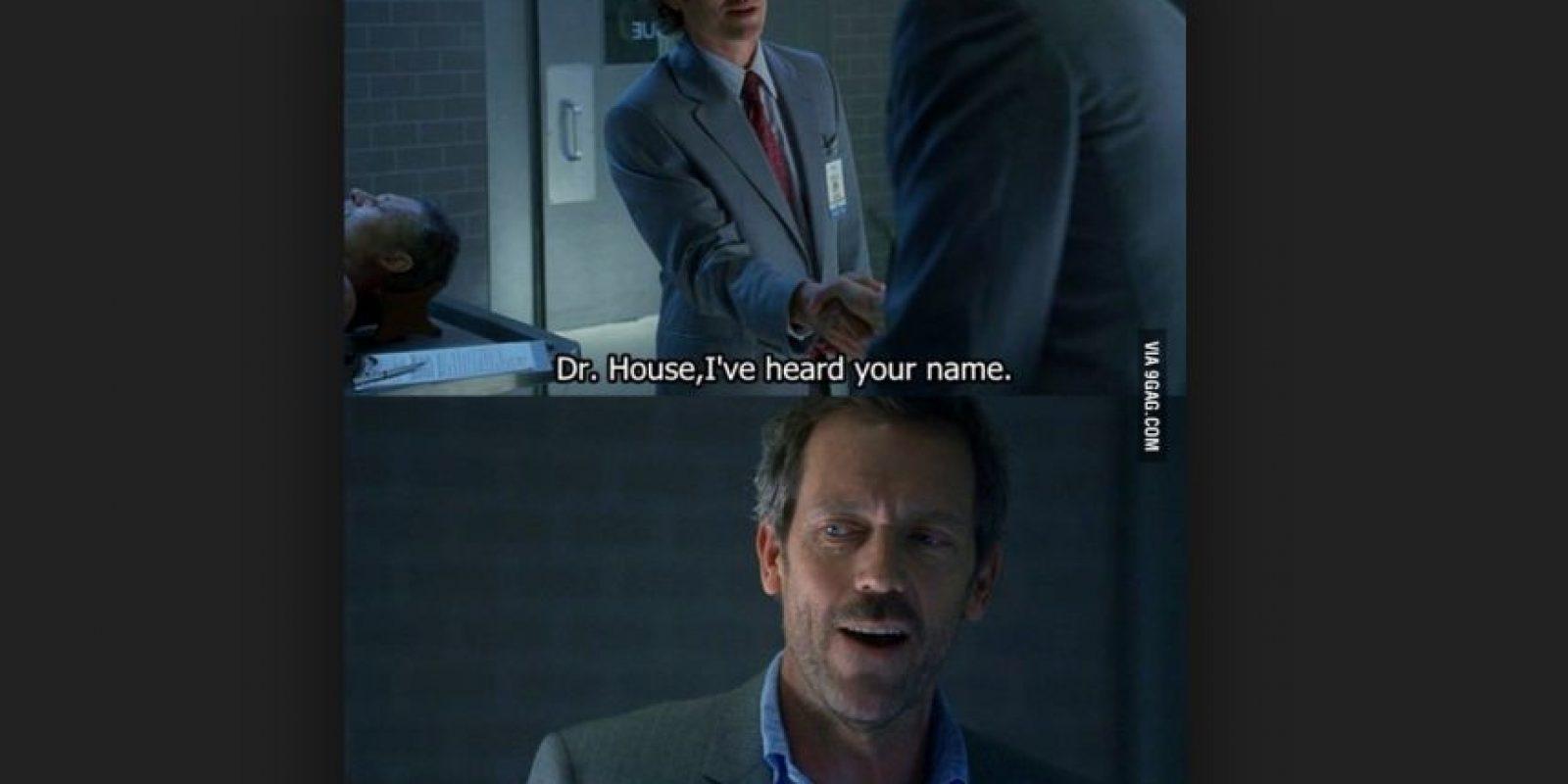 """Personaje principal de la serie """"Dr. House""""l Foto:Vía Fox"""