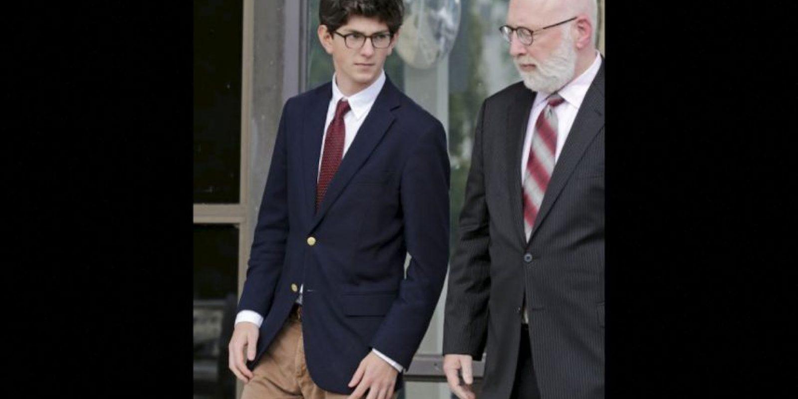 Owen Labrie niega ser culpable Foto:AP