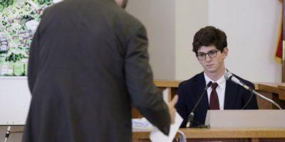 Estudiante de escuela elite condenado a un año en prisión