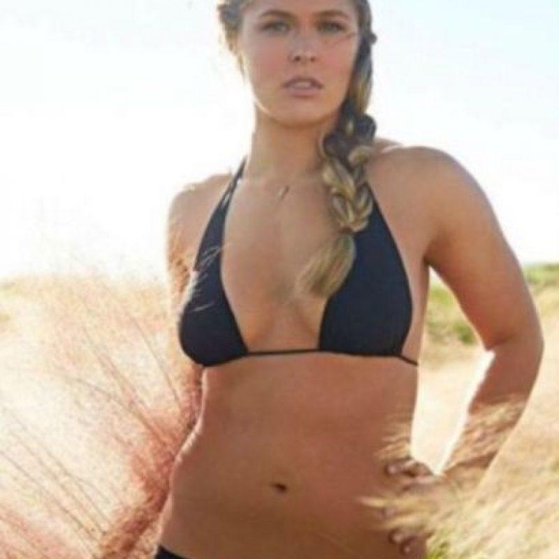 2. Antes de entrar a la UFC era vegana Foto:Vía instagram.com/rondarousey