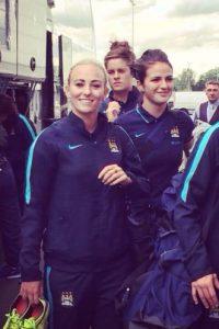 Ella es una futbolista del Manchester City y la Selección de Inglatera Foto:Vía instagram.com/toniduggan